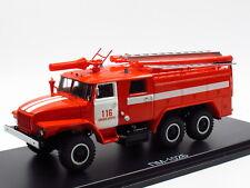 Start Scale Models SSM1234, URAL 43202 M PM-102B  TLF Feuerwehr Fire Tender 1:43