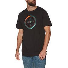 Billabong Completo Rotador Para Hombres Camiseta-Negro Todas Las Tallas