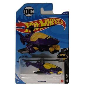 Batman HOT WHEELS Batcopter purple version 2020  2/5 DC 195/250