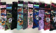 LOT OF *12 assorted Ed Hardy Women's Knee High Socks -sock size:9-11 msrp $27.00