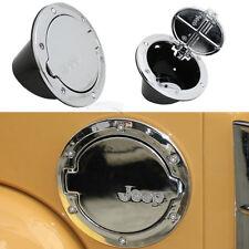 Fuel Filler Door Cover Gas Tank Cap For Jeep Wrangler JK Unlimited 2/4 Door 1pc