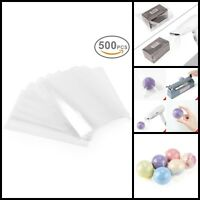 500 Pcs Clear Heat Shrink Film Wrap Bags For Soaps Candles Jars 4 X 6 Inches New