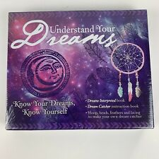 Dream Catcher CRAFT Kit BOOK Understand Your Dreams New Sealed DIY