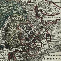 Scandinavia Sweden Kingdom Finland Norway 1762 Lobeck Lotter miniature old map