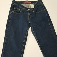 Levis Curvy Cut Boot Stretch Womens Blue Wash Denim Jeans Size 3M 24 x 30