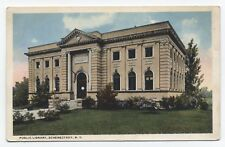 NY ~ Public Library SCHENECTADY New York c1917 Schenectady County Postcard
