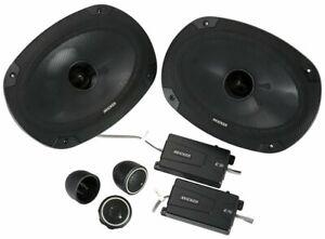 "KICKER 46CSS694 6""x9"" 6x9 900W RMS 4-Ohm Car Audio Component Speakers CSS69 NEW"