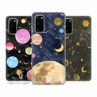 HEAD CASE DESIGNS MARBLE GALAXY SOFT GEL CASE & WALLPAPER FOR SAMSUNG PHONES 1