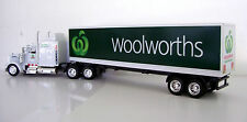 KENWORTH W900 Semi Truck Diecast 1:43 Scale Woolworths Custom Graphics