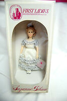 LOUISA ADAMS Smithsonian Institute First Lady Doll by Suzanne Gibson (#S7766)
