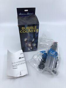 Aqua Medic Bubble Counter for Aquariums with Integrated Non Return Valve