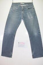 Levis 506 Standard Stretch (Cod.Y1736) tg47 W33 L34 jeans usato Vintage Original