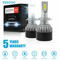 2X H1 H7 H11 9005 9006 110W 30000LM LED Scheinwerfer Birnen Licht Weiß 6000K COB