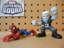Marvel Super Hero Squad COMPLETE Wave 12: TOMBSTONE & SPIDER-MAN (crawling)