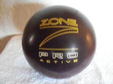 """Used Brunswick  """"Zone Proactive""""  15 lb Bowling Ball"""
