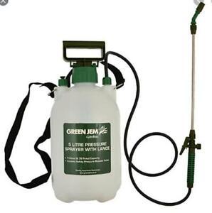 1L/1.5L/5L/8L/PRESSURE SPRAYER PUMP MANUAL GARDEN SPRAY  KILL WEED CHEMICALS