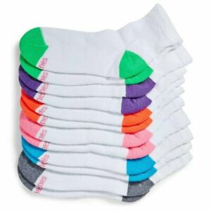 Hanes Women's Ankle Socks 6-Pack Choose You Colors