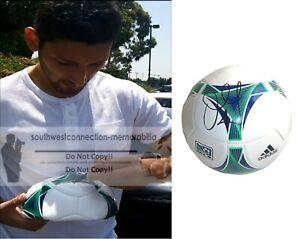 Omar Gonzalez Toronto FC Signed MLS Soccer Ball Galaxy Team USA Proof Autograph