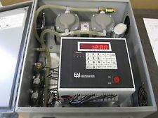 EAI CORPORATION M18B2 Sequencing Air Sampler w/ REITSCHLE THOMAS Vacuum Pump