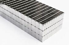 25 / 50 / 100 / 250pcs 10mm x 4mm  x 7mm Nickel Coated BAR MAGNETS N35 Neodymium