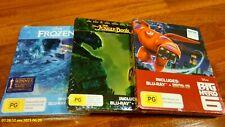 The Jungle Book (Blu-ray Disc, 2016, 2-Disc Set, Steelbook)