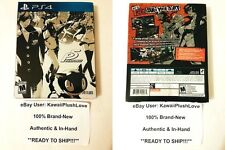 PERSONA 5 STEELBOOK LAUNCH EDITION PLAYSTATION 4 GAME - New & Bubble Wrapped!