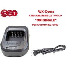 "WX-D004 CARICABATTERIE DA TAVOLO ""ORIGINALE"" PER WOUXUN KG-UV8D - MIDLAND CT-890"