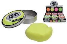Mind Putty Glow in the Dark - 4 Asst. Colours  Fidget Foam Tub Anti Stress Fun