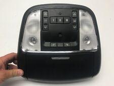 2013 CHRYSLER 300 SRT SRT-8 OEM BLACK INTERIOR DOME MAP LIGHT O/H CONSOLE 11-14