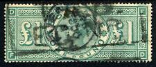 More details for gb 1891 £1 green good used sg 212 cat £800