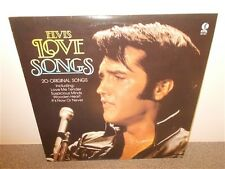 Elvis Presley . Love Songs . 20 Original Songs . K-Tel . LP