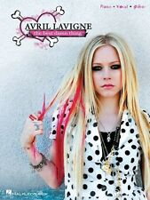 AVRIL LAVIGNE - The Best Damn Thing Piano Vocal Guitar Book *NEW* Music Songs