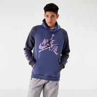 RARE Nike Air Jordan Jumpman Classics Hoodie Men's SZ S bv6010 557 Purples