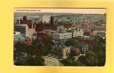 Omaha,NE Nebraska, Bird's Eye view used 1913