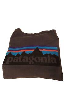 Patagonia long sleeve t shirt large. Gray.