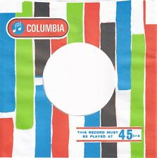 COLUMBIA Company Reproduction Record Sleeves - (pack of 10)