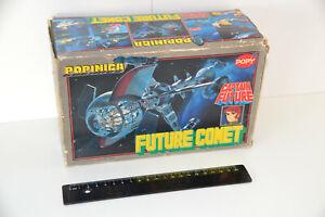 Captain Future/ Future Comet Raumschiff/ Metall mit OVP/ Popy/ original von 1980
