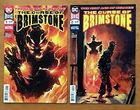 "The Curse of Brimstone 1,2 2018 "" Dark Nights Metal "" 1st Prints DC NM+"