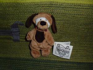 "Wee Bear Village plush Paws Dog puppy costume stuffed animal Ganz 5"""