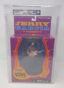 2001 JERRY GARCIA MCFARLANE TOYS SUPER STAGE DLX BOX EDT AFA UNCIRCULATED U80NM!