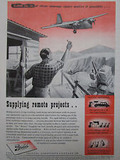 5/1946 PUB BRISTOL AEROPLANE FREIGHTER FRET CARGO ORIGINAL AD