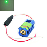 12V DC 532nm 50mW 40x21x21mm Green Laser Diode DOT Module With Glass Lens