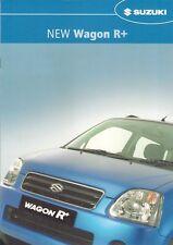 Suzuki Wagon R+ 1.3 GL 2003-05 UK Market Sales Brochure