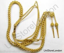 Aiguillette Gold Wire With Naval Tages R1026