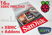 LearCNC - Raspberry Pi XBMC 16GB Preload  SanDisk SD Card