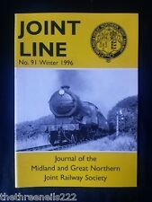 JOINT LINE - Midland & Great Northern Joint Railway Society - # 91 - WINTER 1996