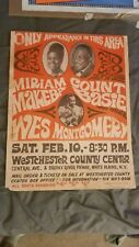 Count Basie Wes Montgomery Miriam Makeba Carboard Boxing Style Concert Poster