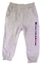 Marvel Comics Ultimate Spider-Man Boy's Graphic Grey Sweatpants Size 3-4 104 Cm