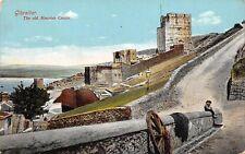 Gibraltar The Old Moorish Castle, Giant Wheel, Small Girl, Landscape