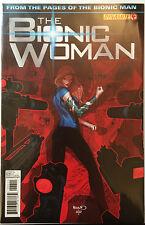 The Bionic Woman #4 VF + 1er Imprimé Envoi UK Gratuit Dynamite Comics